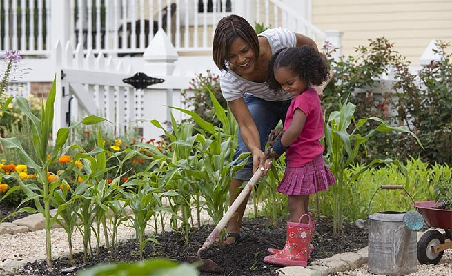 Gardening with your child