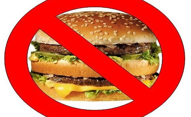 Say no to McDonalds