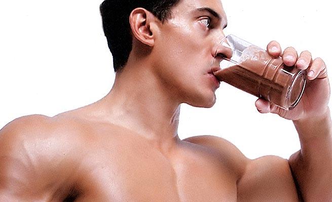 protein shake drink