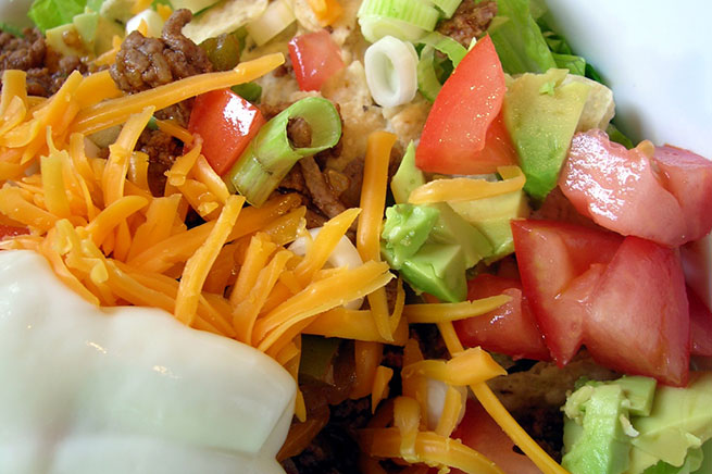Healthy Low Carb Taco Salad